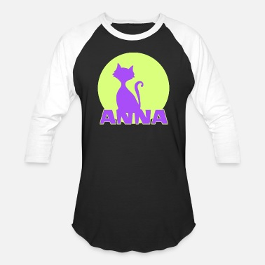 The Name Anna Anna first name - Baseball T-Shirt
