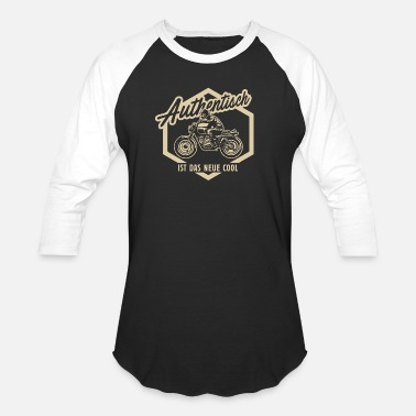 Motorbikes Gear Authentisch motorbike - Baseball T-Shirt