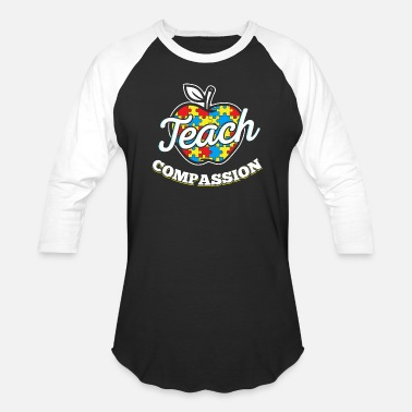 Autism For Teachers Autism Gifts For Teachers - Baseball T-Shirt
