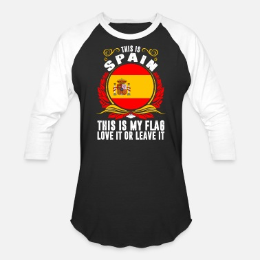Funny Spain This Is Spain - Baseball T-Shirt
