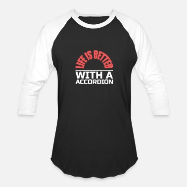 Irish Music Accordion Polka Irish Music - Unisex Baseball T-Shirt
