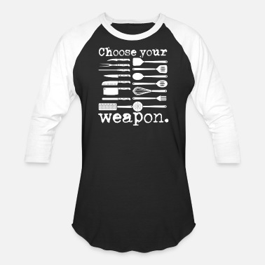 Spaceship Choose Your Weapon - Baseball T-Shirt