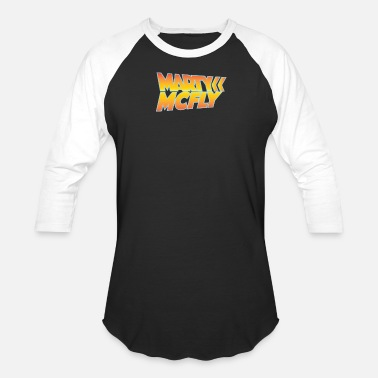 Marty Mcfly Marty McFly Back to the Future - Baseball T-Shirt