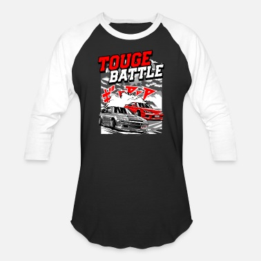 Touge TOUGE BATTLE - Baseball T-Shirt