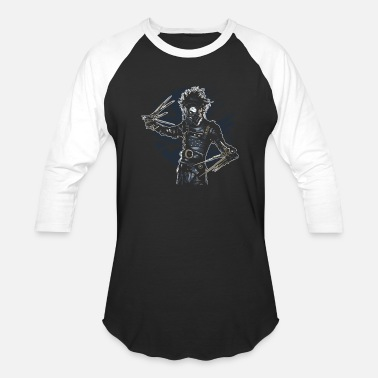 b297eada9 Men Gas Station Gas Mask Scissors - Unisex Baseball T-Shirt