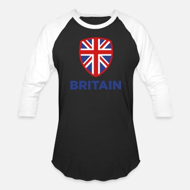 The United Kingdom Of Great Britain And Northern Ireland National Flag Of Great Britain - Baseball T-Shirt