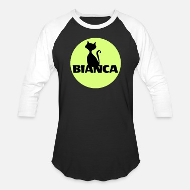 Name First Names Bianca name first name - Unisex Baseball T-Shirt