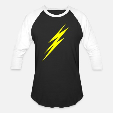 LIGHTNING - Unisex Baseball T-Shirt