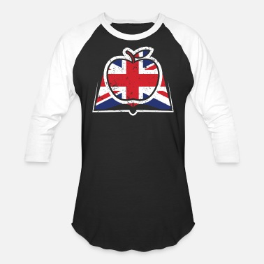 Teacher Union Teacher United Kingdom Flag Union Jack - Baseball T-Shirt