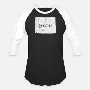First Grade Teacher Funny Wyoming First Grade Teacher - Baseball T-Shirt