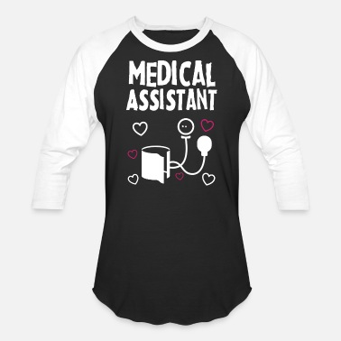 Medical Assistant Apparel Medical Assistant Apparel Shirts - Unisex Baseball T-Shirt