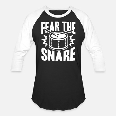 Snare Drum T Shirts - Unisex Baseball T-Shirt