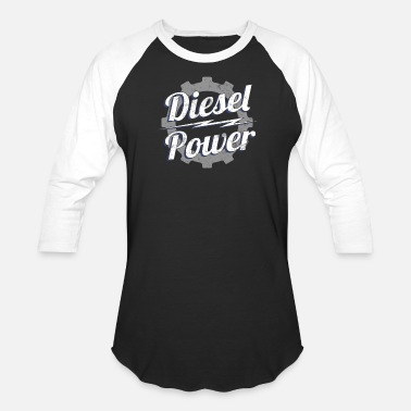 Diesel Power Diesel Power Cog Diesels Truck Gear 4X4 Power - Baseball T-Shirt