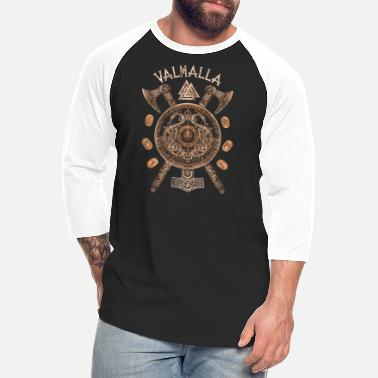 Silk Road Tees Wolf Hommes dOdin T-Shirt Viking Heritage T-Shirt LAgneau T-Shirt Vikings de Dieu Shirt