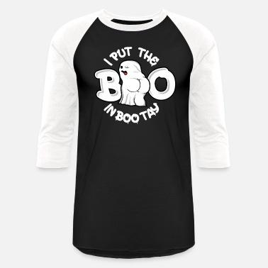 3253ba36b Boo in Bootay Naughty Halloween Women & Gay Men Dark - Unisex Baseball T-.  Unisex Baseball T-Shirt