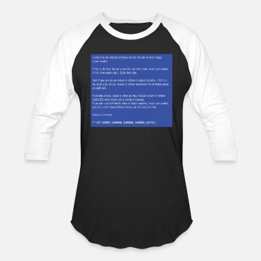 Error User This is a perfect gift for computer users who - Baseball T-Shirt