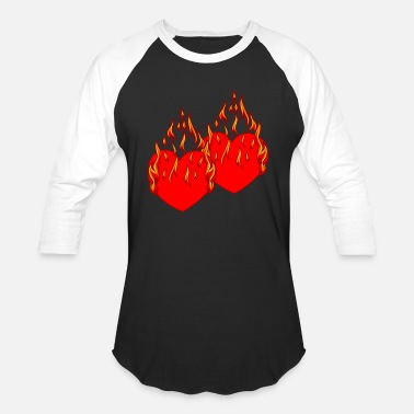Be my Valentine Valentin Hearth Love Romantic - Unisex Baseball T-Shirt