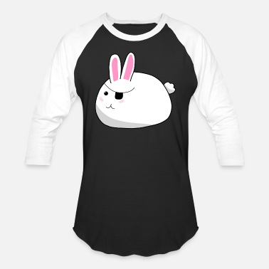 Hayfield Bunny Rabbit Pirate - Unisex Baseball T-Shirt