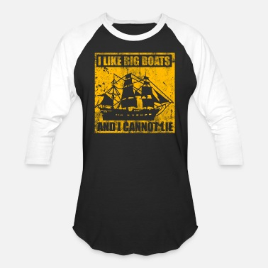 Big Boats big boats - Unisex Baseball T-Shirt