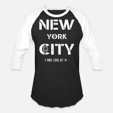 Marathon I LOVE New York City T-Shirts NYC - Unisex Baseball T-Shirt