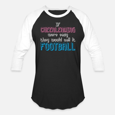 Team Cheer Cheerleading Football Cheering Team Cheer - Baseball T-Shirt