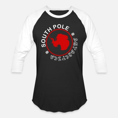 South Pole Antarctica South Pole - Unisex Baseball T-Shirt