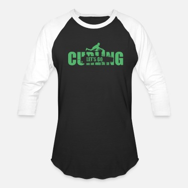 Curling Kids Curlerin Curling Curler Curling Team - Unisex Baseball T-Shirt