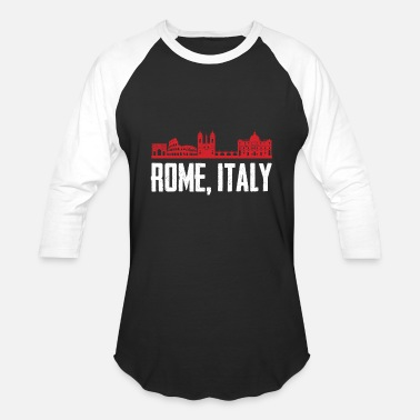 Catholicism Rome Italy,Capital of Catholicism Gift T-Shirt - Unisex Baseball T-Shirt
