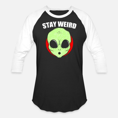 Spacemonster Alien Retro Alien Gift - Unisex Baseball T-Shirt