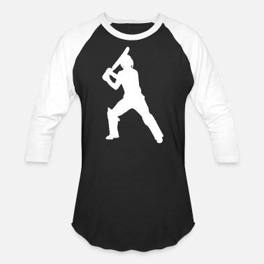 Batsman Cricket Sports Batsman - Unisex Baseball T-Shirt