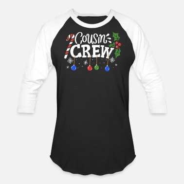 Christmas Cousin Christmas - Unisex Baseball T-Shirt