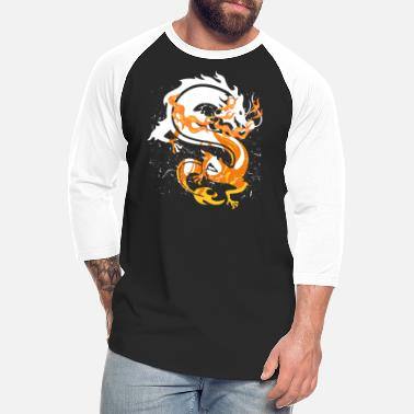 Rusty Rusty Legendary Dragon Animals Gift Idea - Unisex Baseball T-Shirt