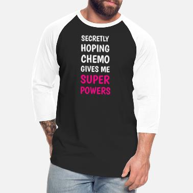 Chemotherapy Breast Cancer Chemotherapy - Unisex Baseball T-Shirt