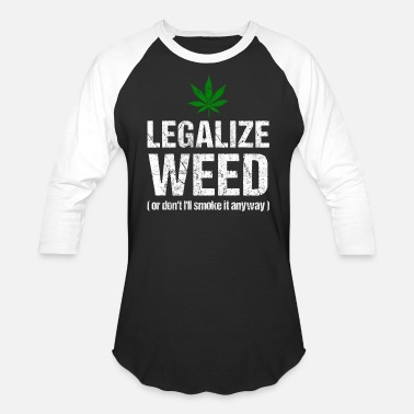 Marijuana Leaf B/&W Adult Long Sleeve Dark T-Shirt Wake and Bake