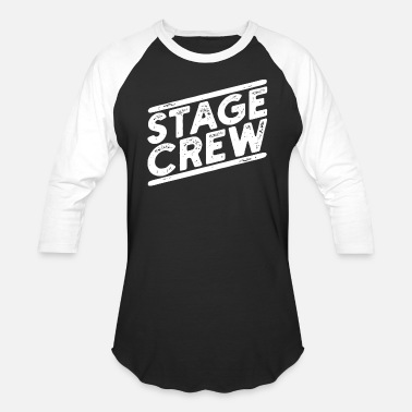 Stage Theatre Actress Actor - Unisex Baseball T-Shirt