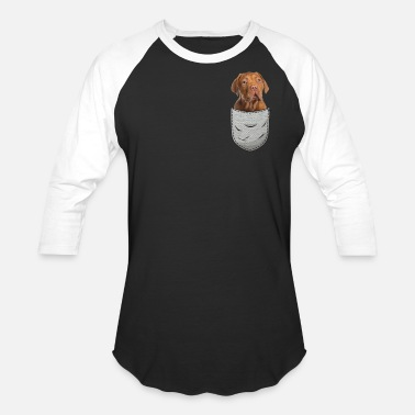 Bordeaux Bordeaux Great Dane Breast Bag Pocket Dog Owner - Unisex Baseball T-Shirt