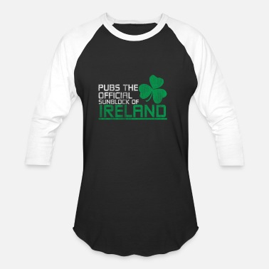 Irish Pubs Ireland Pub - Unisex Baseball T-Shirt