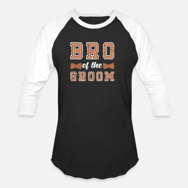 Groom Groom Brother Cohesion - Unisex Baseball T-Shirt