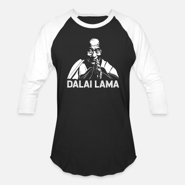 Dalai Lama Dalai Lama Praying - Unisex Baseball T-Shirt