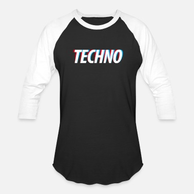 Dj Techno TECHNO - Baseball T-Shirt