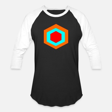 Hexagon hexagon - Baseball T-Shirt