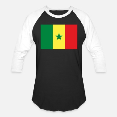 Senegal Senegal - Baseball T-Shirt