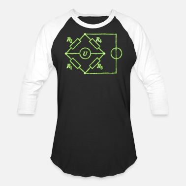Circuit Electrical Engineering Bridge circuit electrical engineering - Baseball T-Shirt