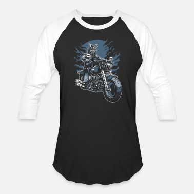 Bikes And Cars Collection Samouraï Ride - T-shirt baseball unisexe