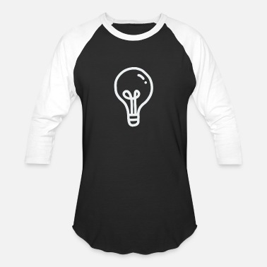 Bulb Light bulb - Unisex Baseball T-Shirt
