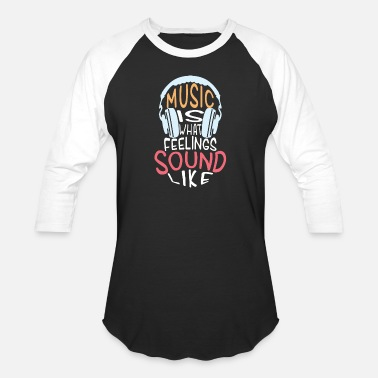 Funky Music is the greatest gift / T shirt - Unisex Baseball T-Shirt