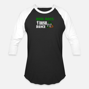 Dance Reel Boys Irish Dance - Irish Dance Boy Pride Shirt - Baseball T-Shirt