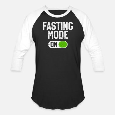 Fasting Fasting Mode On Intermittent Fasting Diet - Baseball T-Shirt