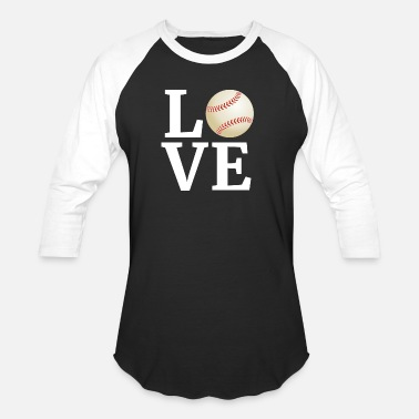 I Love Baseball Player Fan Coach - Unisex Baseball T-Shirt