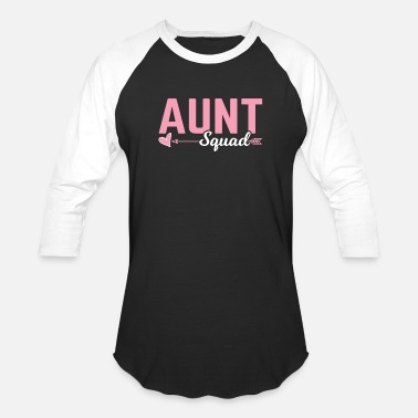 Shower Aunt Squad Gift Aunt Life Best Aunt Idea Present - Baseball T-Shirt